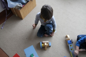 Building with Blocks - February 2014